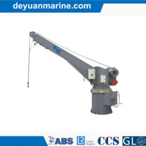 Rescue Boat Single Arm Hydraulic Slewing Davit pictures & photos