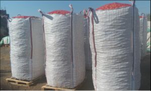 Firewood Mesh Bag Wood Pellet Bag pictures & photos