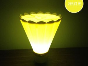 USB Rechargeable Badminton Shaped LED Night Light Lamp pictures & photos