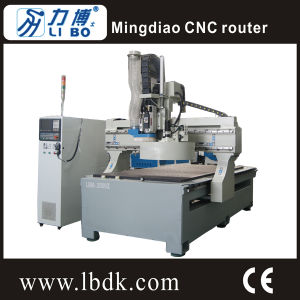 Libo CNC Mold Making Machine, Aluminum Table with Stepper Motor