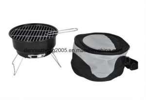 Portable Charcoal Barbecue Grill with Cooling Bag pictures & photos