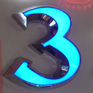 Outdoor Advertising Acrylic LED Frontlit Letter Store Front Sign pictures & photos