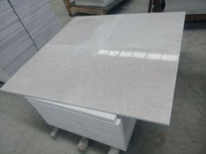 China Pearl White Granite Tile pictures & photos