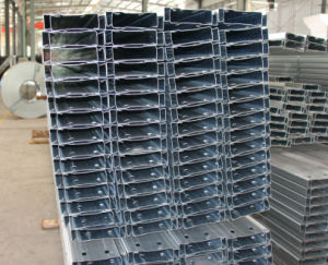 Pre-Punched Galvanized Steel C Profile pictures & photos