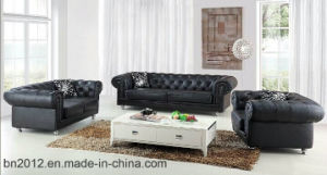 Living Room Genuine Leather Sofa (SBO-2733) pictures & photos