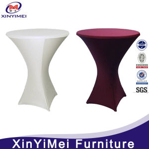 Hot Sale Weeding Cocktail Table Cover pictures & photos