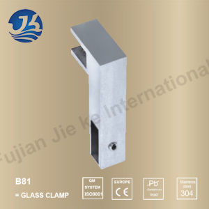 High Quality Stainless Steel Bathroom Hardware Glass Clamp (B81)