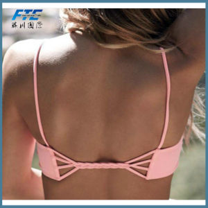 Swimsuit Summer New Hot Sexy Pure Color Women Bikini pictures & photos