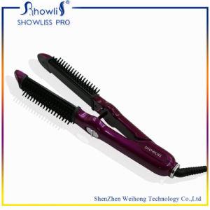 Ce RoHS Dual Voltage Auto Shut off Ceramic Hair Straightener pictures & photos