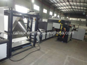 Automatic PP Non-Woven Fabric Handle Bag Making Machine (WFB-DC600) pictures & photos