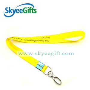 High Quality Custom Logo Nylon Material Fashionable Lanyards and Badge Holders pictures & photos