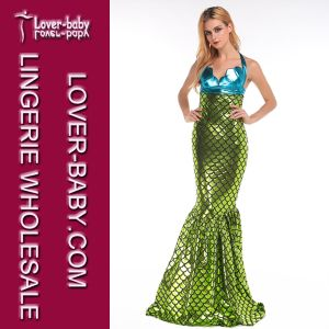 Woman Girls Sirena&Ariel Fancy Mermaid Halloween Party Costume (L15259) pictures & photos