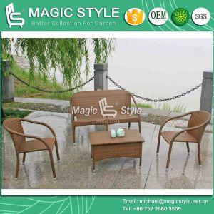 Rattan Sofa Set for Stackable Garden Sofa Set (Magic Style) pictures & photos