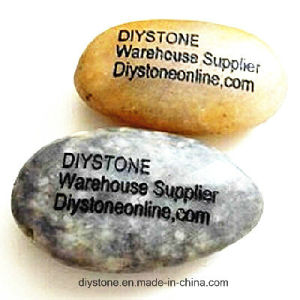 Personalized Garden Engraved Stone Multicolor 20mm-40mm pictures & photos