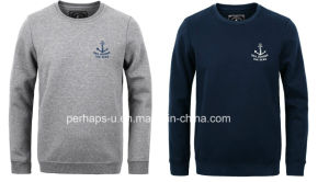 Cool Mens Long Sleeve Cotton Terry Sweater with Custom Logo pictures & photos