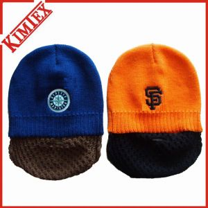 Winter Acrylic Promotion Knitted Hat Cuffed Jacquard Beanie pictures & photos