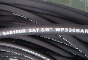 "SAE 100r2at 2"" High Pressure Hydraulic Rubber Hose pictures & photos"