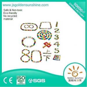 Children′s Toy Plastic Block in Domino Design with CE/ISO Certificate