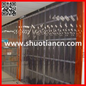Flexible Clear PVC Strip Curtain Doors (ST-004) pictures & photos