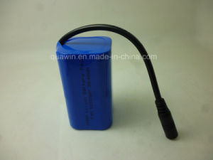 2s2p 7.4V 5200mAh 18650 Lithium Battery Pack pictures & photos