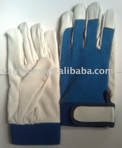 Leather Glove-Working Glove-Weight Lifting Glove-Safety Glove pictures & photos