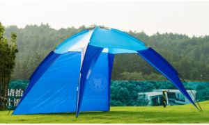 Folding Camping Sunshade Beach Tent for 3~4 Person (TS-BT009)