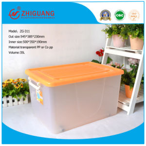 545*385*230 Heavy Duty Plastic Storage Bins for Storehouse pictures & photos