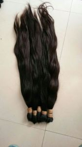 Top Grade Bulk Hair Virgin Remy Hair Extensions for Russian Market pictures & photos