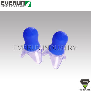 Pressure Reduction Safety Silicone Earplugs pictures & photos