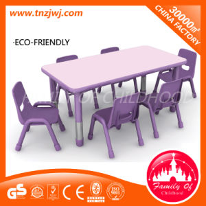 Plastic Tables and Chairs Kindergarten Furnitures pictures & photos