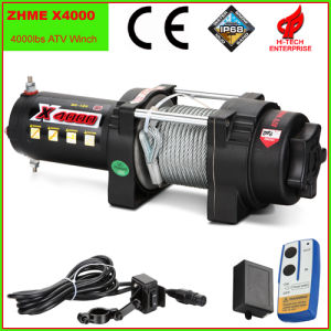 4000lbs Auto Electric Winch with Wire Rope pictures & photos