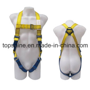 Professional Industrial Full-Body Polyester Adjustableprotective Security Harness Safety Belt pictures & photos