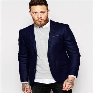 2016 New Arrival blue Design Wool USA Men Suit pictures & photos