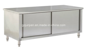 Cheering Stainless Steel Work Top Table Cabinet with Storage pictures & photos