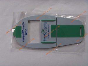 Rubber Phone Holder, Custom Rectangle Shape 3D PVC Phone Holder