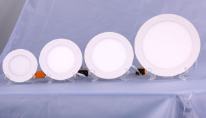 Embeded Round Super Thin 4W 6W 12W 15W 18W LED Ceiling Panel pictures & photos