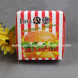 Hamburger Paper Box All Occasions H11617 pictures & photos