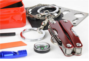 Emergency Kit for Outdoor/Sos Tin Box/Survival Box pictures & photos