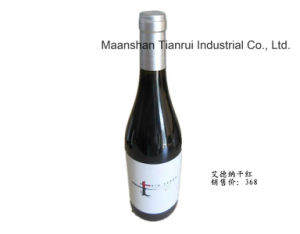 Spain Red Wine Edetana in Silvery Bottle