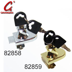 Cabinet Drawer Hardware Glass Locks (82858) pictures & photos
