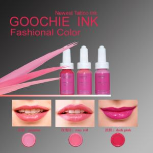 Goochie Coscmetics Tattoo Eyebrcow/Ecip Permanent Makecup Ink pictures & photos