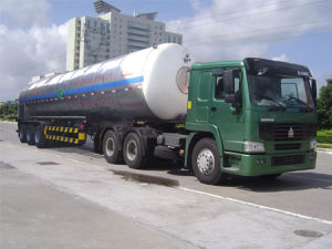 Low-Temperature Liquid Tanker Truck of High Quality