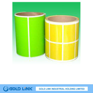 80g Self Adhesive Paper Label Film Fluorescent Paper (FR002) pictures & photos