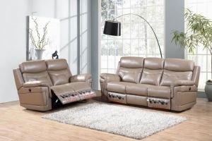 Leather Reclining Sofa pictures & photos
