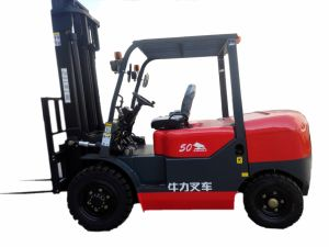 5.0 Ton Diesel Forklift with Sideshifter and Japanese Engine pictures & photos