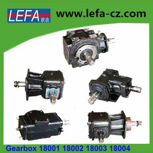 Double-Shaft Cycloidal Gear Reducer Metal Casting Gearbox (18001) pictures & photos