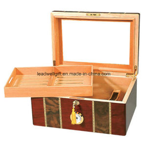 Tempered Beveled Glass Humidor (100 Cigars) pictures & photos
