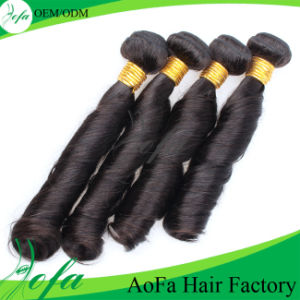 7A Grade Top Quality Mongolian Human Hair Virgin Remy Hair pictures & photos