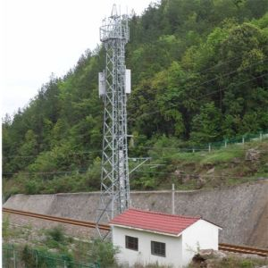 35m Steel Tubular Pole Top Build Tower Telecommunication Tower pictures & photos