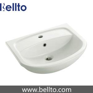 Sanitary Ware Ceramic Bathroom Basin for Bathroom Vanity (5022) pictures & photos